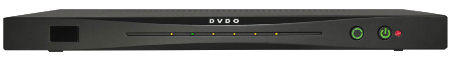 DVDO Quick6R 4K HDMI switch box (front)