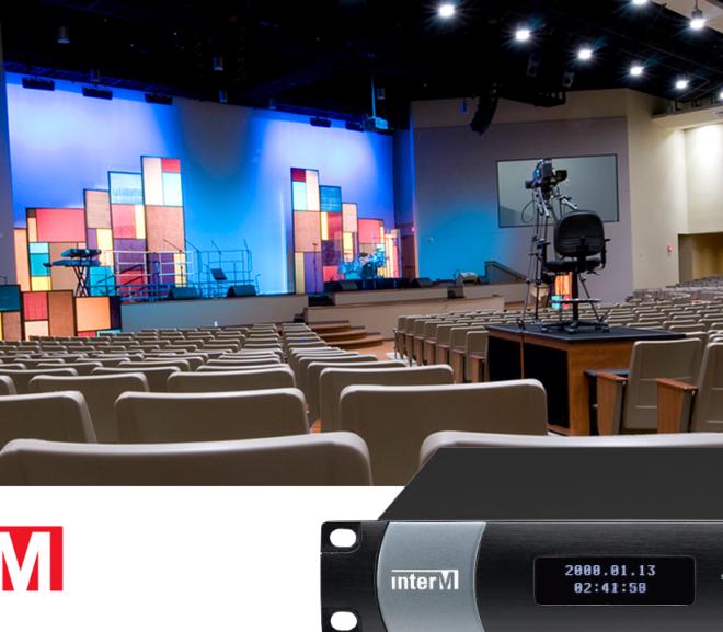 inter-m NPX-8000 auditorium