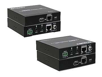 ANI-5PLAY HDMI/HDBaseT/PoH Extender (Transmitter/Receiver) Kit 328ft with IR/RS-232 by A-NeuVideo