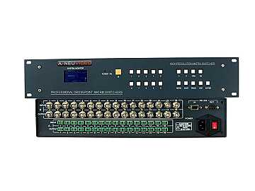 ANI-V6464 64x64 High-Performance Composite Video Matrix Switcher by A-NeuVideo