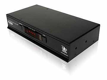 PRO 4-Port USB DVI KVM Switch
