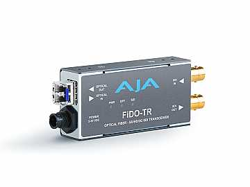 FiDO-TR SDI/LC Fiber Transceiver Extender up to 10km by AJA