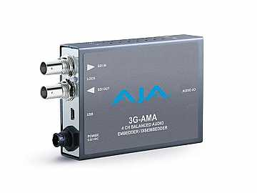 3G-AMA 3G-SDI Analog Audio Embedder/Disembedder by AJA