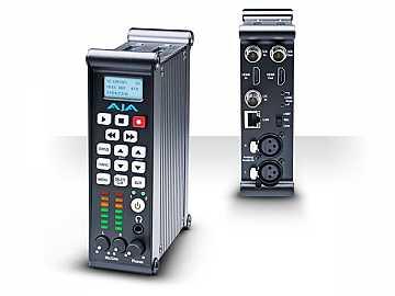 Ki Pro Mini Compact Field Recorder (ProRes 422 /Avid DNxHD 220x/SD/HD SDI) by AJA