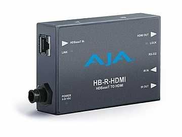 HB-R-HDMI UltraHD/HD HDMI over CAT5 Extender (Receiver) by AJA