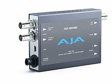 Hi5-3D SD or HD-SDI Multiplexer to HDMI Converter (SD/HD-SDI Loopout) by AJA