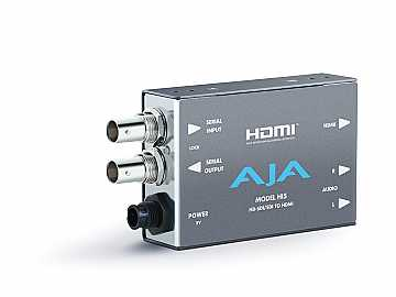 Hi5 HD-SDI/SDI to HDMI Converter (10-bit video 8 channels of embedded audio) by AJA