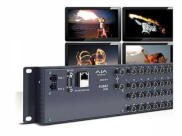 KUMO 3232 32x32 Compact 3G-SDI/HD-SDI/SDI Router by AJA