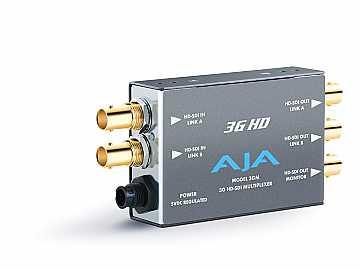 3GM Compact 3G/1.5G HD-SDI Multiplexer Converter by AJA