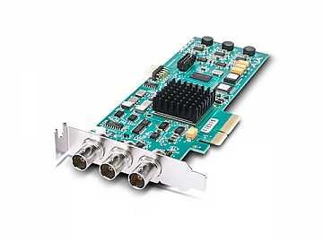 Corvid PCIe 4x Card for 8/10-bit Uncompressed Digital SD HD I/O by AJA