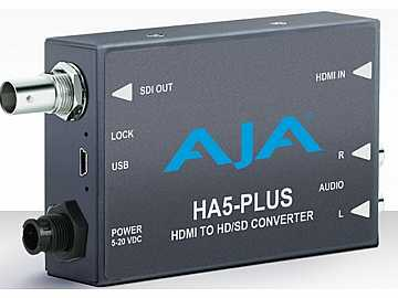HA5-Plus HDMI to 3G-SDI Converter w DSLR format support by AJA