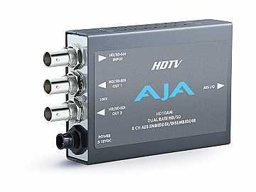 HD10AM 8 Channel AES Dual Rate HD-SDI/SDI Embedder/Disembedder by AJA