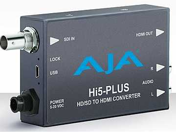Hi5-Plus 3G-SDI to HDMI Converter w PsF to P support by AJA