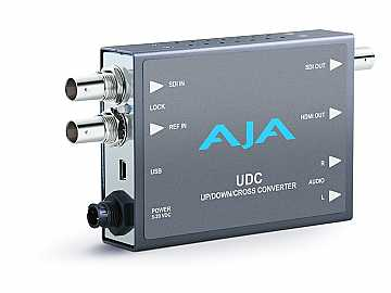 UDC Up/Down/Cross Mini-Converter for  SD/HD/3G HD video formats by AJA