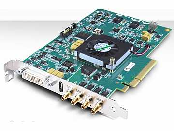 KONA 4 4K/2K/3G/Dual Link/HD/SD I/O 10-bit PCIe Card with HDMI output/HFR by AJA