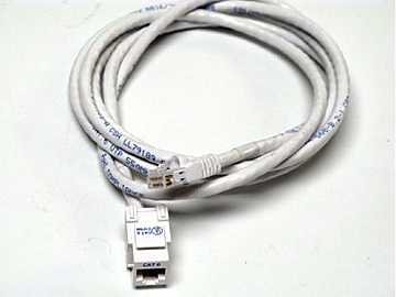 CM11357 Cat-6 Rj-45  F/M 6Ft Ivory Sna by Altinex