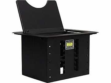 CNK200 Cable-Nook Modular Tabletop Interconnect Box/Black by Altinex