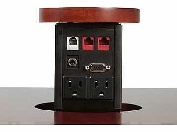 PNP417 Custom Tabletop surface w Power/VGA/RJ-45/RJ-11/Audio by Altinex