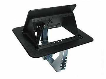 TNP510 Tilt N Plug Customizable Interconnect Tabletop Box w/o Gas Spring by Altinex