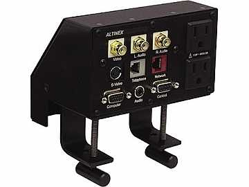 UT240-121S Under Table Analog AV Interconnect Unit (3.5mm/RJ-45/VGA/USB) by Altinex