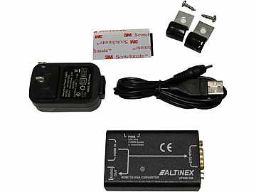 VP500-100 HDMI to VGA Converter with HDCP/HD by Altinex