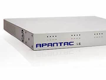 LE-16CV 16 Input Composite Multiviewer w built in CATx Extender by Apantac