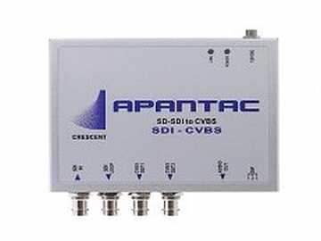 SDI-CVBS SD-SDI to composite Converter by Apantac
