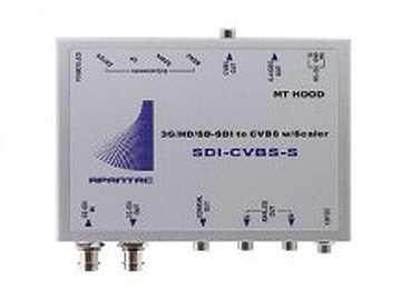 SDI-CVBS-S 3G/HD/SD-SDI to composite Converter by Apantac