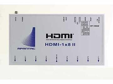 HDMI-1x8-II 1x8 HDMI 1.3 Splitter HDCP/1080p by Apantac