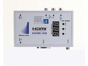 HDMI-DE HDMI Audio De Embedder with Audio Delay up to 2700ms by Apantac