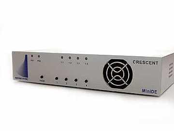 MiniDE-4 4 HDMI INPTS CMPCT MULTIVIEWER w/DVI/HDMI OUTPT by Apantac