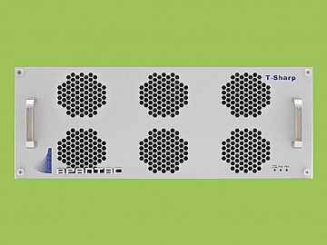 T-24x4-4RU-H 4 RU 24x4 3G/HD/SD-SDI/CVBS I/O Multiviewer w UOM-H-A by Apantac