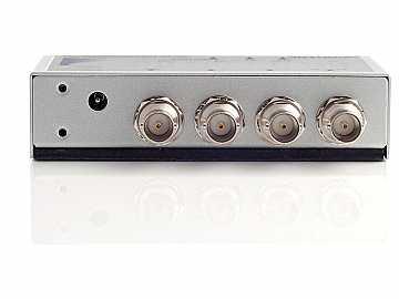 DA-SDI-DE 1x2 SDI Audio De Embedder (analog audio and AES audio) by Apantac