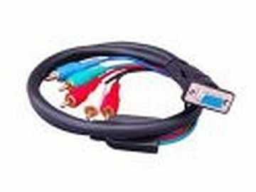 HDTV-C-SR Component Video to VGA Breakout Cable by Apantac