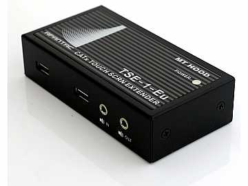 TSE-SET-2 VGA/USB Touch Screen Extender (Transmitter/Receiver) Kit with Audio up to 1000ft by Apantac