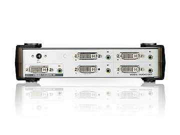 VS164 4 Port DVI Video/Audio Splitter by Aten