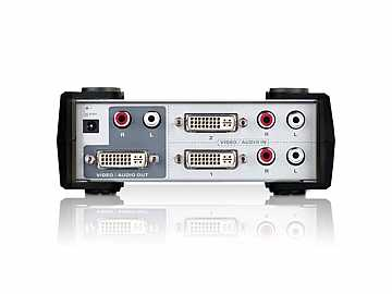 2 Port DVI and Audio Switch