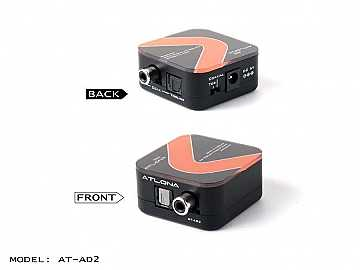 AT-AD2 Optical/Digital Coaxial 2-Way Converter by Atlona