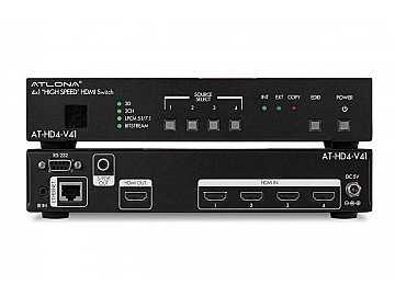 AT-HD4-V41 4x1 HDMI Switcher by Atlona