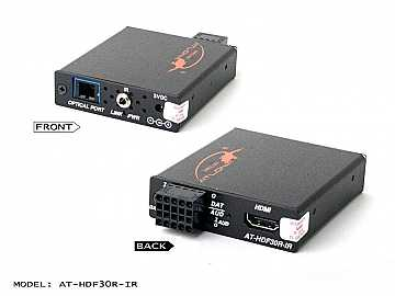 AT-HDF30R-IR-b HDMI/RS232/IR/Audio Extender (Receiver) module/Multi Mode Fiber by Atlona
