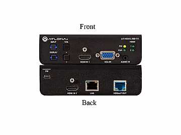 AT-HDVS-200-TX 3-In HDMI/VGA Switcher with Ethernet HDBaseT Out by Atlona