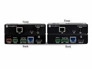 AT-UHD-EX-100CE-KIT 4K/UHD HDBaseT/HDMI Extender POE Kit (Transmitter/Receiver) by Atlona