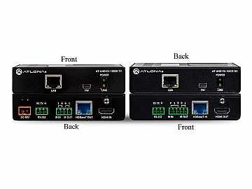 AT-UHD-EX-100CE-KIT-B 4K/UHD HDMI/HDBaseT Extender (Transmitter/Receiver) Kit by Atlona