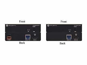 AT-UHD-EX-70-KIT 4K/UHD HDMI Over HDBaseT Extender(Transmitter/Receiver) Kit with PoE by Atlona