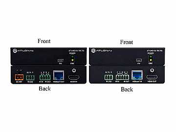 AT-UHD-EX-70C-KIT 4K/UHD HDMI HDBaseT Extender(Transmitter/Receiver) Kit with PoE by Atlona