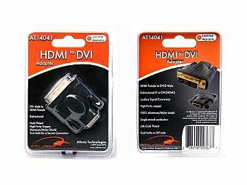 HDMI FEMALE TO DVI MALE ADAPTER