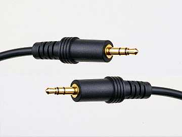 ATS21051L-30 100ft (30m) 1/8-inch (mini) male to 1/8-inch (mini) male Stereo Audio Cable by Atlona