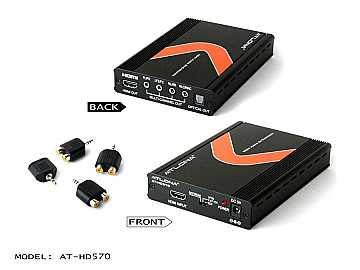 AT-HD570-b HDMI 1.3 Audio De-Embedder by Atlona