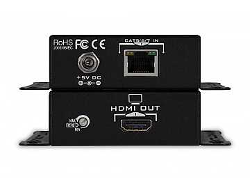 HIGH SPEED HDMI EXTENDER KIT OVER SINGLE CAT 5/6/7 WITH FULL 3D SUPPORT (1080p up to 130ft)