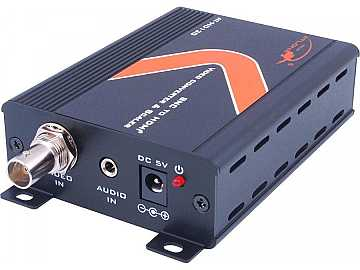 AT-HD120 Composite (BNC) / Stereo Audio to HDMI Video Converter/Scaler by Atlona